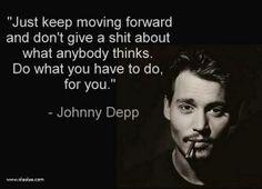 So true sweet Johnny!