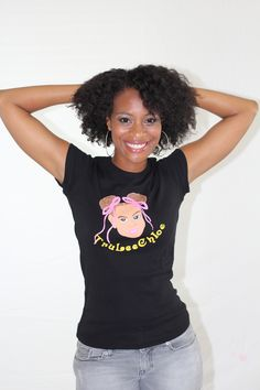TruLeeChloe Tee (Black) - $27.00 | Sizes: S, M, L, XL