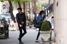 Dakota Johnson out with Matt Hitt in NYC