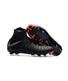 huge selection of 43840 f5158 Nike Hypervenom Phantom III DF FG PEVNÝ POVRCH černá stříbro oranžový  kopačky. Soccer Boots, Soccer Cleats ...