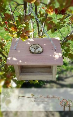 Outdoor Hanging Bird Feeder Garden by FairyCrossingDesigns on Etsy