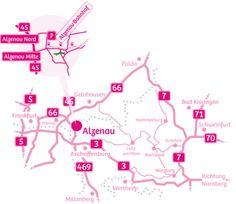 Alzenau -Anreise & Parken