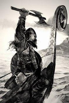 Black history tattoo style 41 ideas for 2020 Viking Power, Rune Viking, Viking Art, Norse Mythology Tattoo, Norse Tattoo, Bussola Viking, Tatuagem Trash Polka, Viking Warrior Tattoos, Viking Images