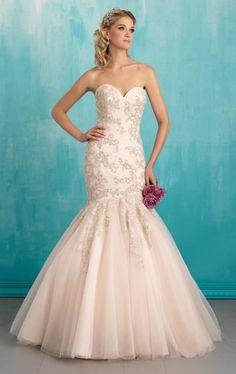 L116 Sweetheart Beading Wedding Gowns, Mermaid Wedding Dress,Mermaid Corset Wedding Dresses