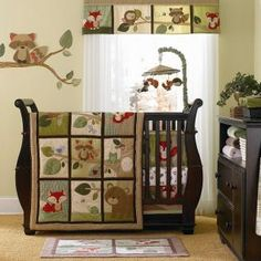 Tree Tops Baby Crib Bedding by Carters