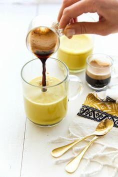 Turmeric Caffé Latte. YUM.