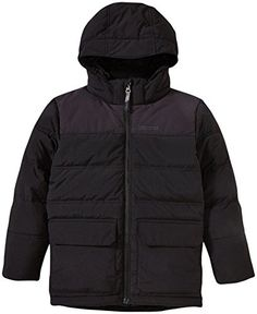 Marmot Big Boys Rail Jacket Kid  Black  Medium ** Find out more about the great product at the image link.(This is an Amazon affiliate link and I receive a commission for the sales)