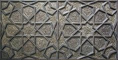 Arabic / Islamic geometry 01. geometry and pattern. image: A silver door panel