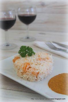 Cocina compartida: Arroz con langostinos y salsa de curry (Estilo indio)
