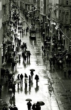 Istanbul-Beyoglu by Ali ilker Elci