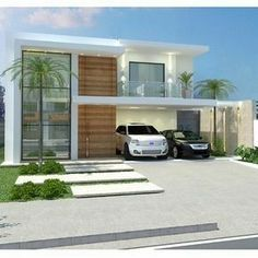 Our Top 10 Modern house designs – Modern Home Modern House Plans, Modern House Design, Modern Exterior, Exterior Design, Contemporary Architecture, Interior Architecture, Contemporary Homes, Facade House, Future House