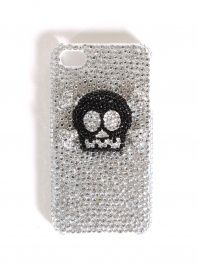 Skull Rhinestone iPhone Case!