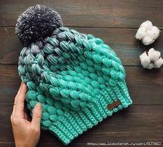 beautiful crochet pepermint hat ♥  http://www.liveinternet.ru/users/5737403/post377322523