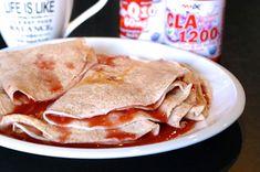 RECETA FITNESS/ Mis crepes favoritos #desayuno