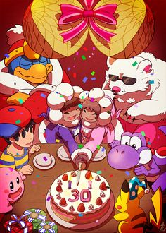 Ice Climbers 30th Anniversary -Day 30-Happy 30th Anniversary by…