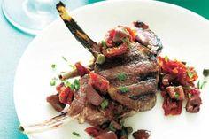 BBQ Lamb Cutlets with Mediterranean Salsa – Recipes – Bite