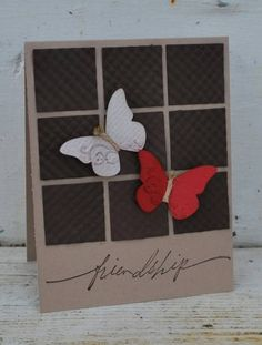 "Breakfast Butterflies ""Friendship"" Card...mamasix - Cards and Paper Crafts at Splitcoaststampers."