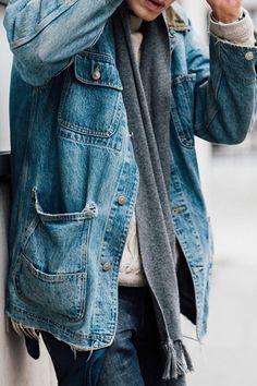 I want the denim overalls