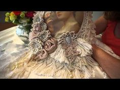 """Lady And The Rose"" Wall Hanging - YouTube"