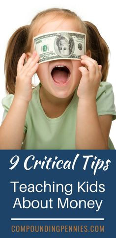 9 Tips To Teach Kids About Money Budget – Finance tips, saving money, budgeting planner Money Budget, Money Tips, Money Saving Tips, Money Hacks, Make Money Today, How To Make Money, Budget Planer, Frugal Living Tips, Budgeting Money
