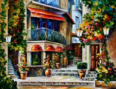 SICILY - SPRING MORNING by Leonid Afremov