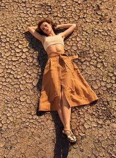 588d2020 Imagen 1 de de Zara Cleopatra Dress, Neutral Outfit, Natural Clothing,  Retro Color
