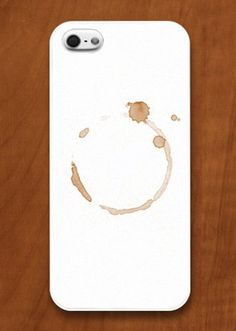 Coffee Stain iPhone Case