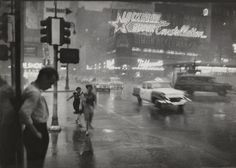 Broadway and 43rd Street, Looking East Across Times Square, 1959. by Carl T. Gosset Jr.