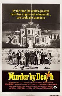 Posteritati: MURDER BY DEATH 1976 U.S. 1 sheet (27x41)