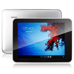 iPPO Q899 8 Inch Tablet PC Android 4.0 8GB Camera HDMI Silver  $105.80