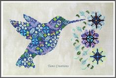 Tams Creations | Original Blackwork and cross stitch patterns. Loving some of these patterns!