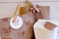 Vintage / Shabyy / Packaging / Wedding / Party    http://kukuwaja.blogspot.de/2013/02/nostalgische-papeteriedeko-in.html