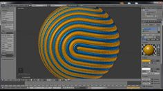 Blender 3D tutorial - Rolled Sphere in Blender 3D