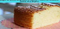 Ideas que mejoran tu vida Köstliche Desserts, Delicious Desserts, Yummy Food, Pan Dulce, Easy Cake Recipes, Sweet Recipes, Cake Cookies, Cupcake Cakes, Cupcakes