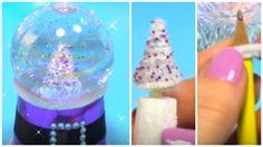 Manualidades Navidad: BOLA o GLOBO de nieve con LUZ - Innova Manualidades