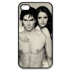 Amazon.com: The Vampire Diaries Hard Case Cover Skin for Iphone 4 4s: Cell Phones & Accessories @Hillary Platt Bandley Day I mean, do I need to buy this or is this weird?