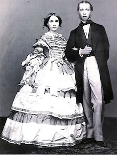 Archduke Maximilian and Princess Charlotte of Belgium, the Emperor and Empress of Mexico