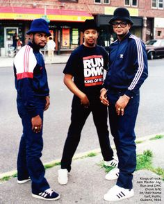 Run DMC - the Kings of Hollis
