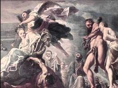 Ludwig van Beethoven (1770- 1827), Poco sostenuto - vivace, Symphony Nr. 7 A-dur op. 92, Wiener Philharmoniker, Carlos Kleiber.  Works by Antonio Bellucci (1654- 1726), Liechtenstein-Palais.