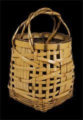 Flower basket, SOUNSAI Saku, circa 1920 - 1930.  Kagedo Japanese Art Gallery - Seattle, Washington