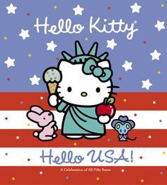 hello kitty family | hello kitty hello usa author higashi glaser