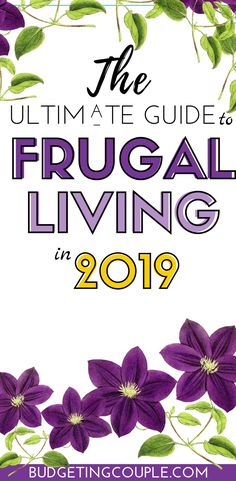 Check out the ultimate guide to Frugal Living for beginners in Find out how to effortlessly save money and live frugally this year with these genius (yet easy) frugal tips and tricks.