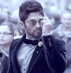 Agent Look of Allu Arjun