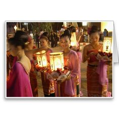 Lantern Girls :-A very atmospheric shot full of beauty, grace and charm. These girls were making final adjustments to costumes and were just about to perform a lantern dance as part of the opening ceremony for the 'Loi Kratong' festival. I love the lighting in this shot. #chiangmai #thailand #thai #oriental #southeastasia #loikratong #festival #tradition #candles #lanterns #celebration #celebrate #girls #women #female #beutiful #beauty #sexy