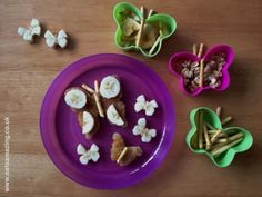 Butterfly Lunch for a poorly Small Child