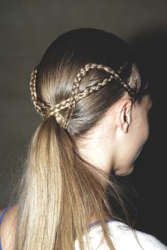 crazy ponytail braids