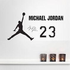 Michael Jordan Basketball Wall Decal Sticker L Size