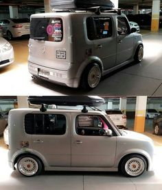 Toasters, City Car, Custom Cars, Cubes, Cool Cars, Nissan, Sick, Motorcycles, Wheels