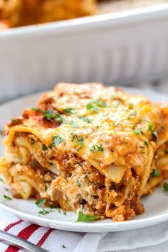 Classic Lasagna Recipe Easy With Cottage Cheese.The BEST Easy Lasagna Recipe. South Your Mouth: 10 Easy Meals Made With Ground Beef. 40 Minute Quick And Easy Cheesy Meat Lasagna Cheese . Home and Family Classic Lasagna Recipe Easy, Homemade Lasagna Recipes, Best Lasagna Recipe, Meat Lasagna Recipe With Ricotta, Homemade Lasagna Noodles, Classic Recipe, Lasagna Recipe With Oven Ready Noodles, Oven Ready Lasagna, All You Need Is