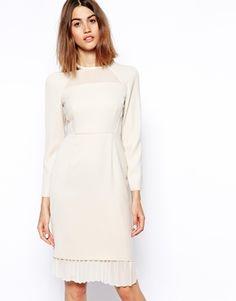 { Dallas Shaw picks: asos white long sleeve dress }